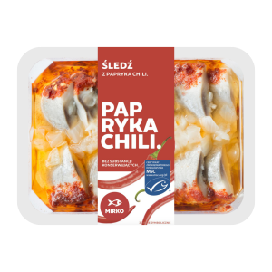 Śledź z papryką chili